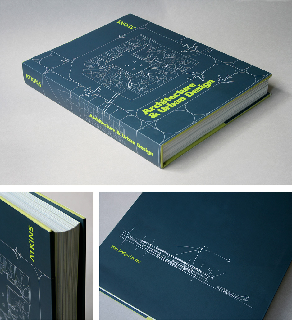 Atkins Global architecture book cover design