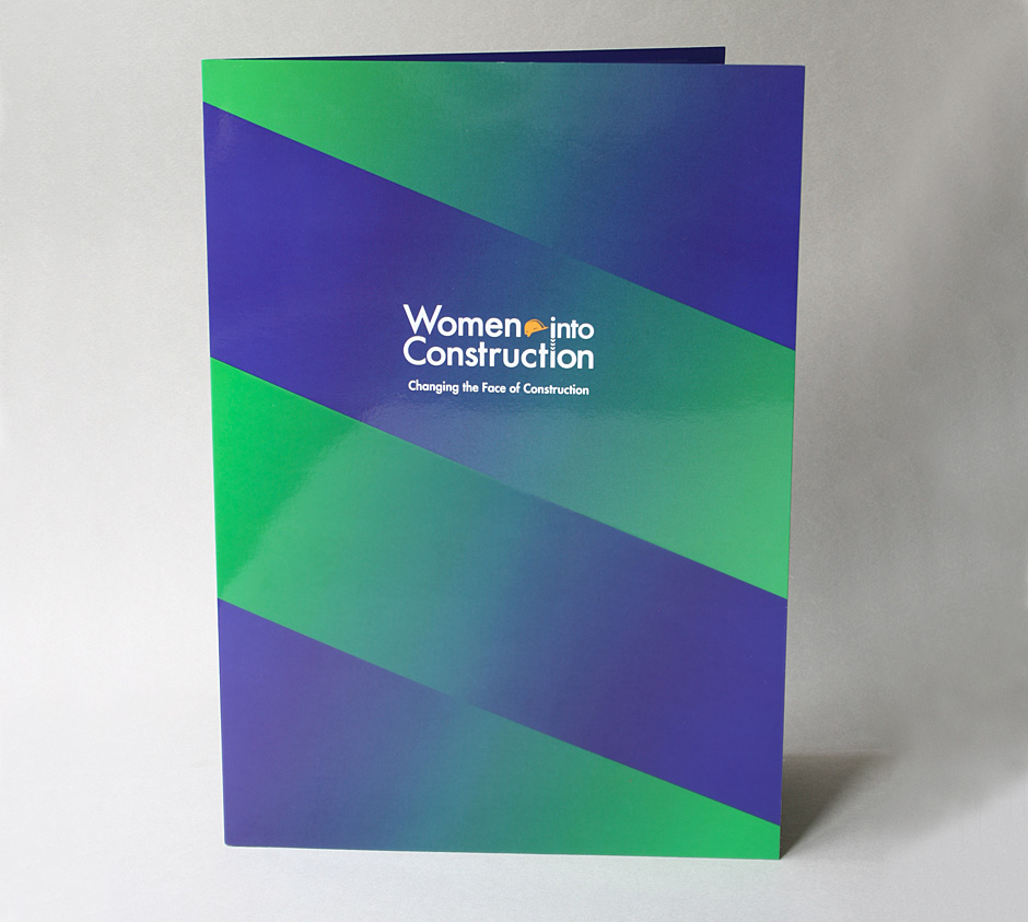 Women Into Construction presentation folder
