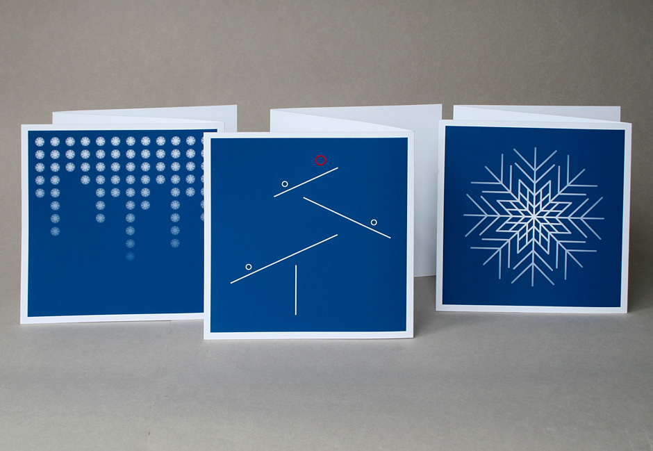 Indigo Bureau Christmas card designs