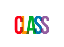 Multicoloured CLASS logo