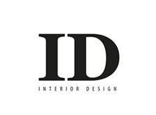 Bold capitals I and D above INTERIOR DESIGN strapline