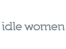 Lower case idle women logo